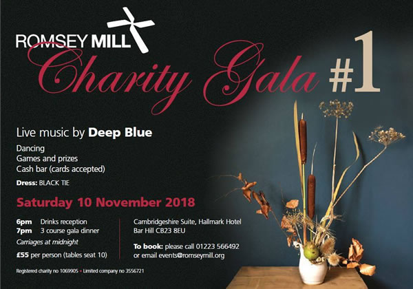 Romsey Mill Charity Gala